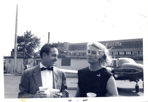 Andy with Elizabeth Lambert