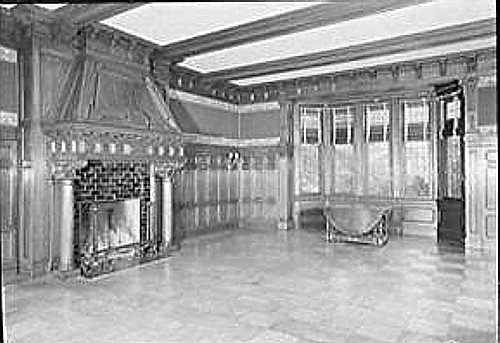 Billy Rose residence interior