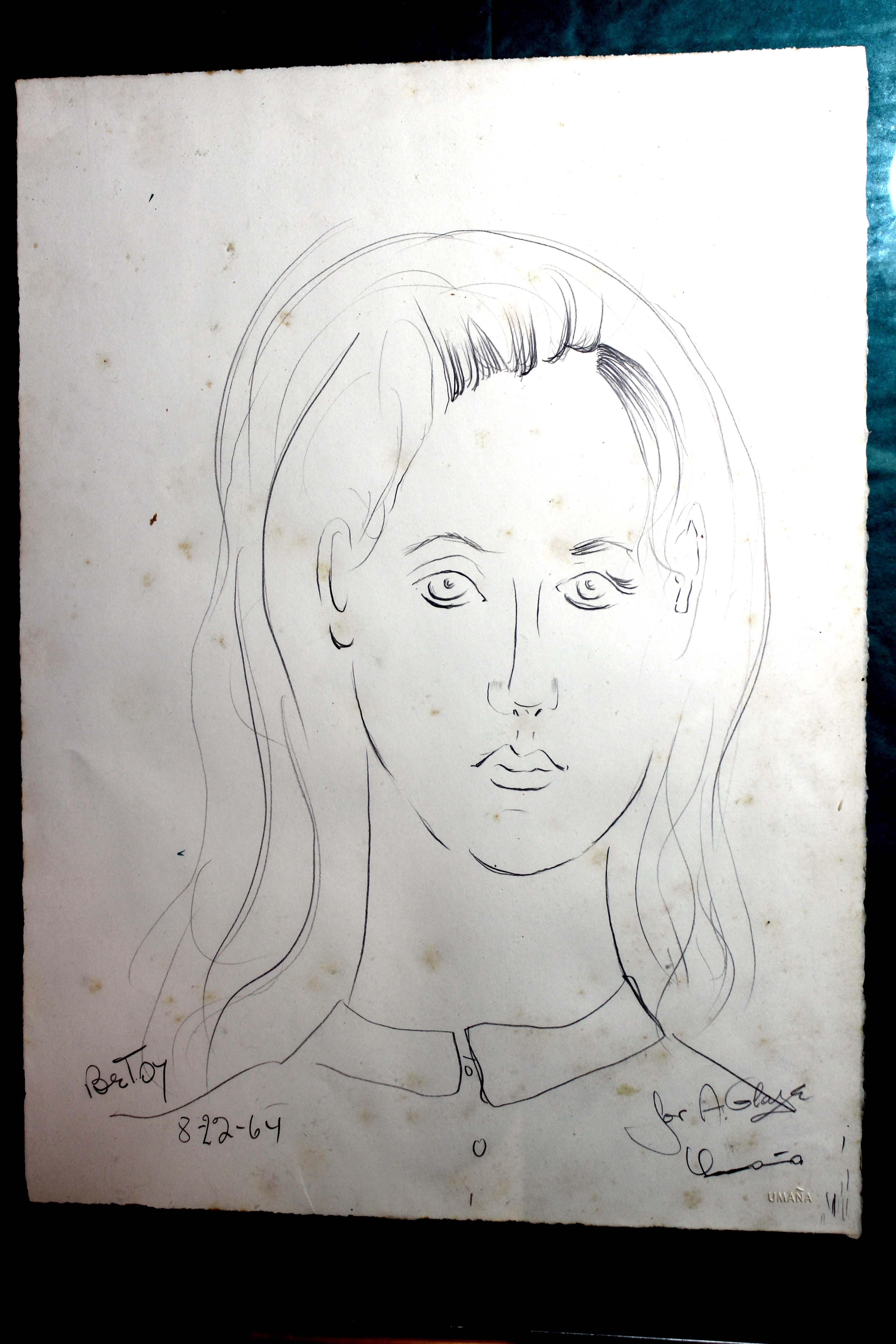 Umana's portrait of Betsy